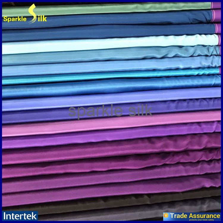 New Products High Quality Mulberry Natural 100% Woven Silk Fabric