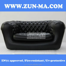 Outdoor inflatable sectional sofas,inflatable chesterfield sofa with cooler