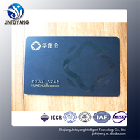 Debit cards/credit cards/membership cards with embossed number