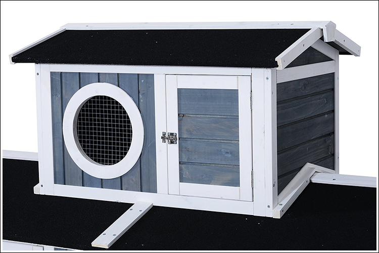 Large Three Level Deluxe Backyard Chicken Coop Barn