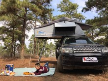 Rooftop Tent 4x4 Convenient Installation Large Room Tent Uptop Camping
