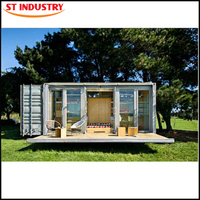 Low Cost living 20ft prefabricated pre-made australia expandable container house