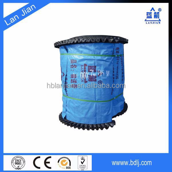 Polyester cotton fabric power cord rubber corrugated sidewall conveyor belt
