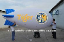 colorful promotional inflatable airship/blimp, zeppelin