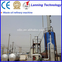 Waste oil recycling plant to diesel from China supply