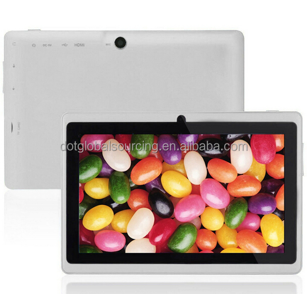 Wholesale Android Tablet 7 inch Allwinner A33 Quad Core Cheap Price Kids Tablet PC Q8