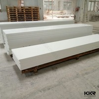nano white marble stone acrylic solid surface sheet