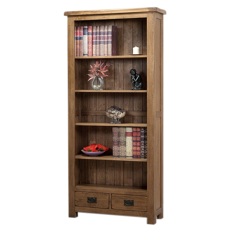 solid wood bookcases photo