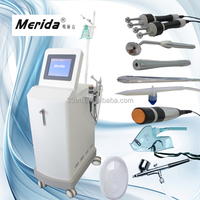 Microcurrent ,RF ,BIO,Spray gun ,sucking pen ,oxygen injector home oxygen facial machine