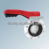 Corrosive Resistant Plastic Butterfly Valve