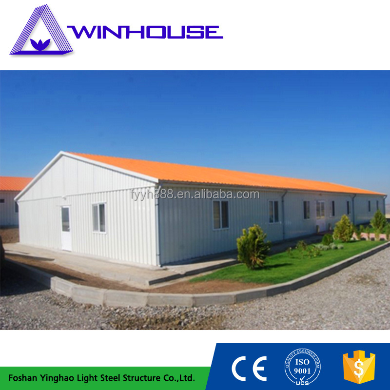 High Quality Light Weight Steel Luxury Prefab Villa From China
