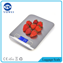 High precision 5kg platform electronic food kitchen scale