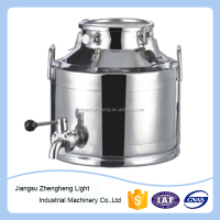 stainless steel milk tank/stainless steel milk cans/mini milk can