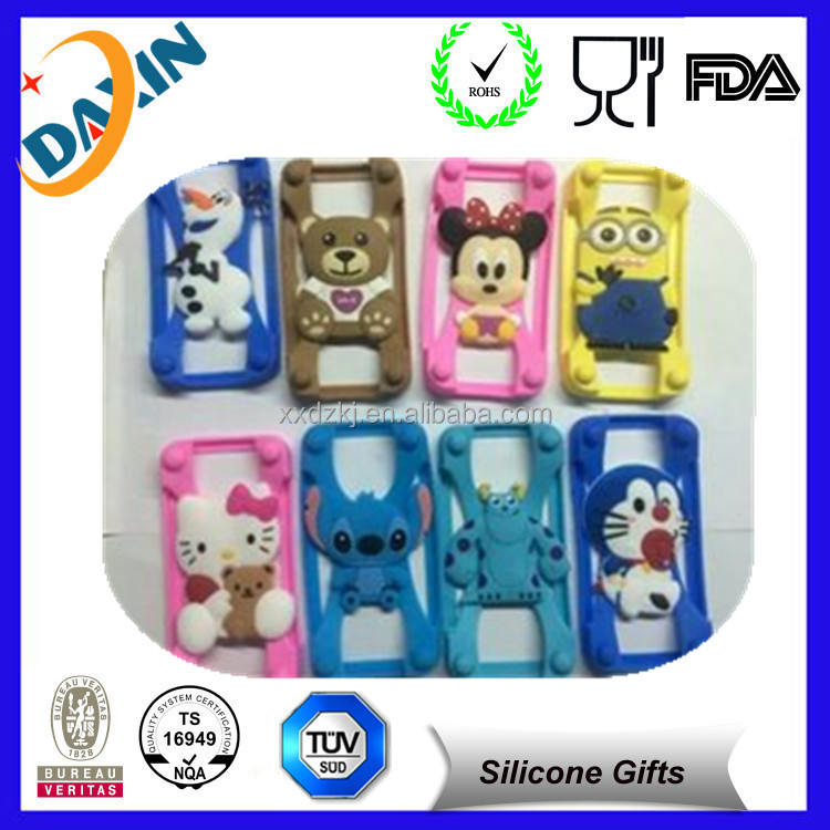 colorful silicone rubber wholesale cell phone case
