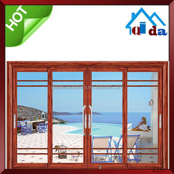 China Factory Large Sliding Glass Door Exterior Balcony Sliding Glass Door Used Commercial Sliding Door