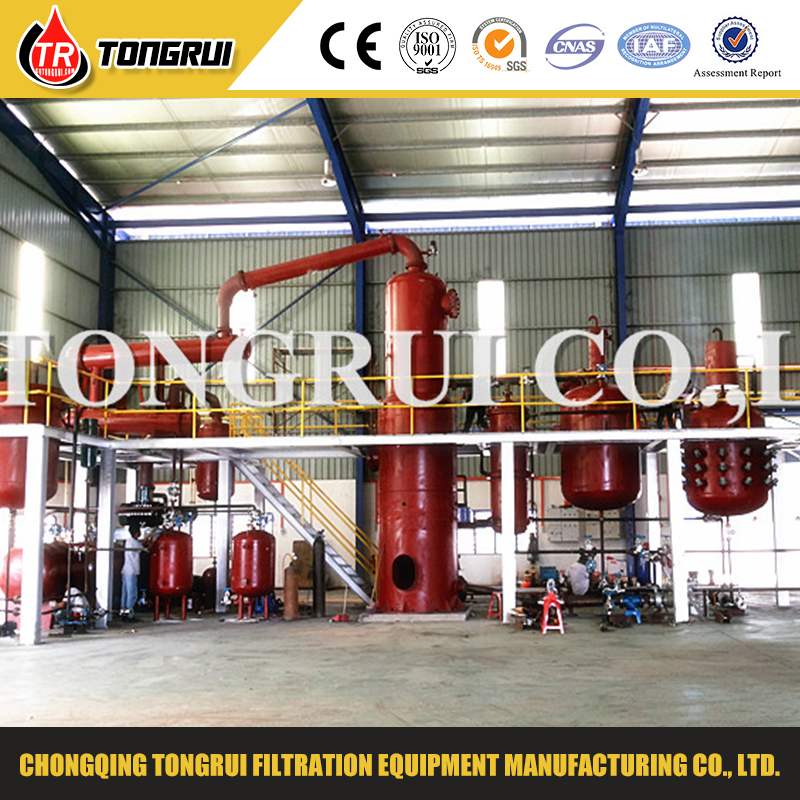Tongrui used oil recycle diesel distillation equipment