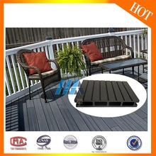 Hot sale Wood plastic WPC tongue and groove composite decking, wood composite decking white,
