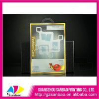 Most beautiful customized plastic pad box, low price clear minipad case