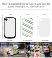Wholesale 2D Sublimation Phone Case Sublimation Blank Cell Phone Case For Blackberry 8520