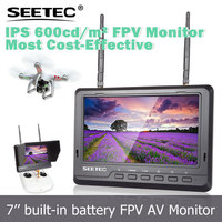 SEETEC FEELWORLD 7 inch hd fpv monitor wireless 5.8ghz diversity receivers 32 channels flying aeroplane toys
