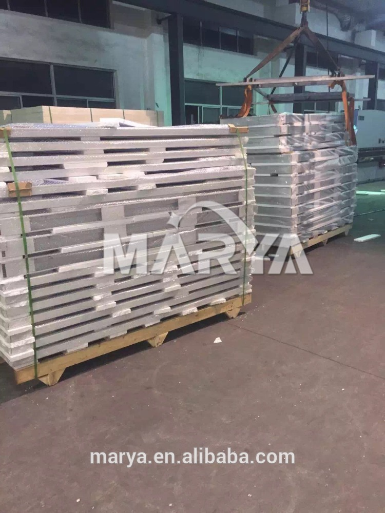 Heat insulated rockwool wall panel corrugated sheet metal fire rating