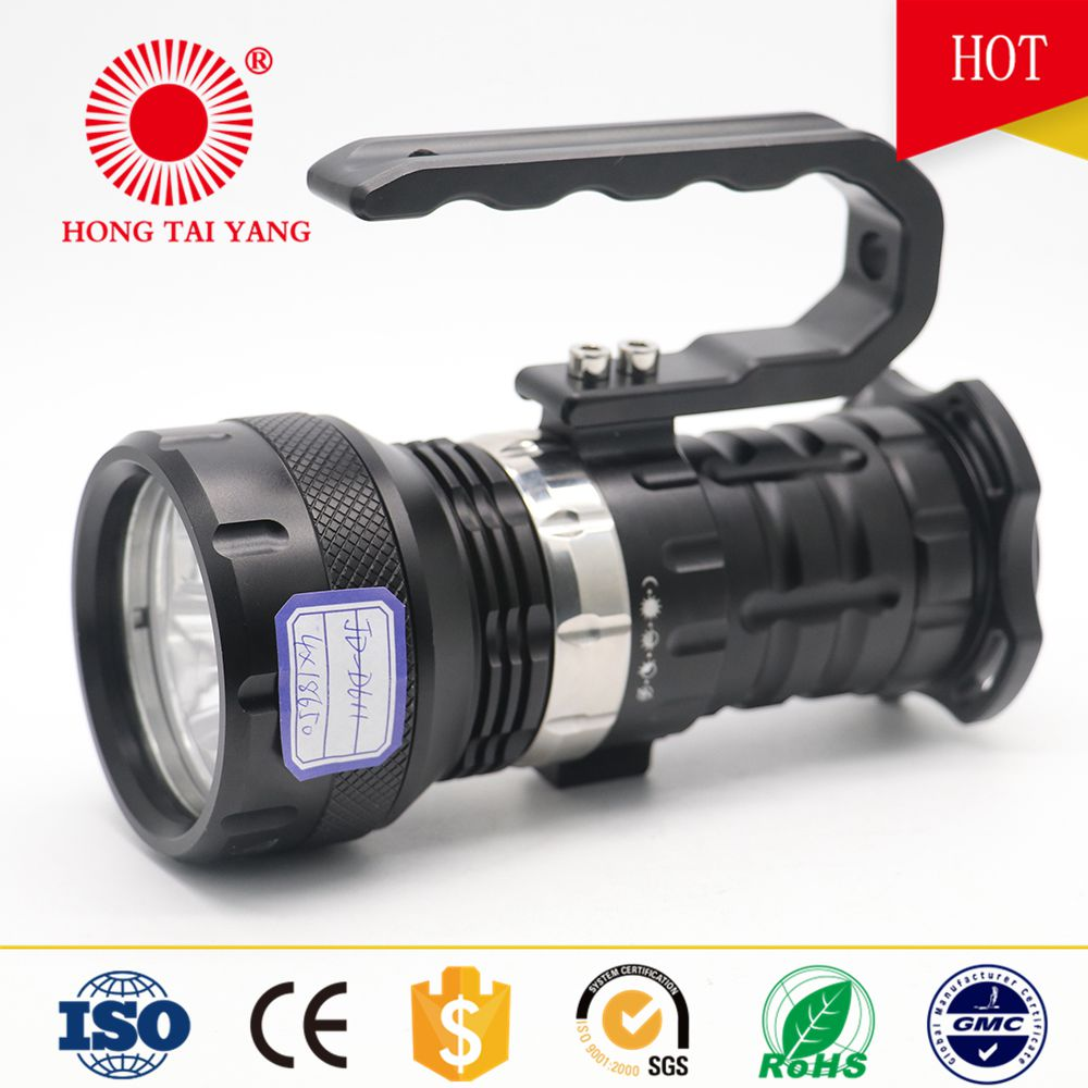 High quality torch aluminum diving flashlight 10000 lumens for manufactory