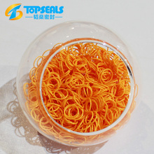 hot-sale colorful silicone 5mm o-ring rubber made in china