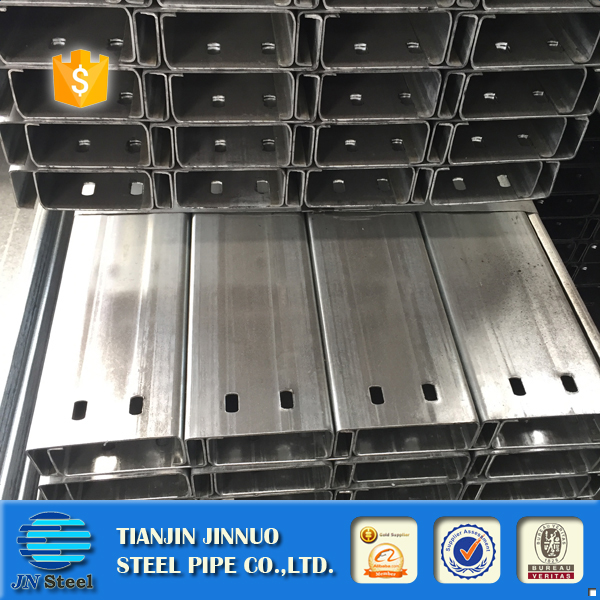 JIS Standard cold Rolled galvanized steel C channel