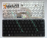Factory price laptop keyboard for hp mini 5010 US layout keyboard