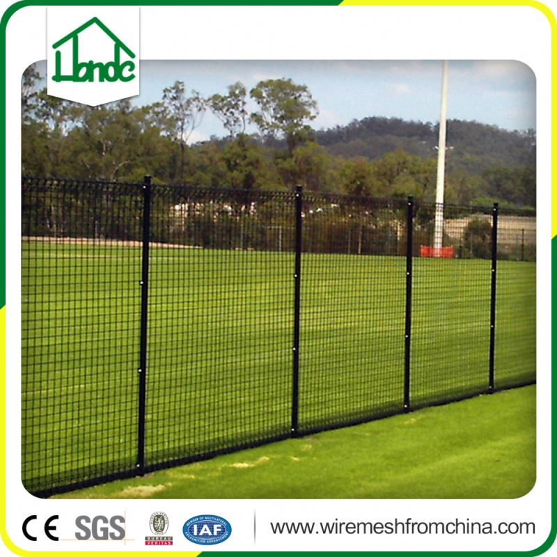 galvanized cheap chain wire chain link fence with barbed wire