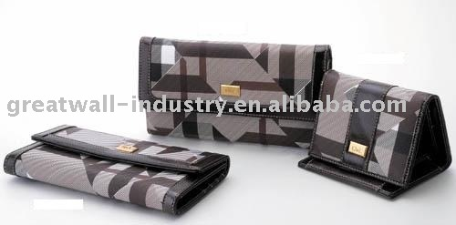 PVC wallet, purse, coin pouch, handbags, burse, leather/pu/pvc product