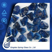 Faceted Round Glass Nugget