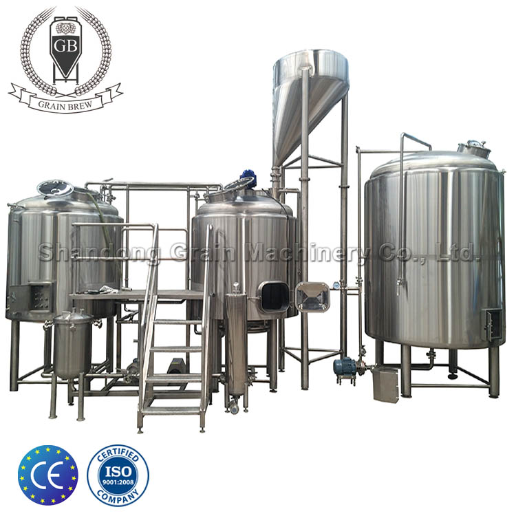 brewing project/industrial beer brewing equipment/ss fermenter