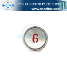 Elevator push button switch cover MZT-BN-18