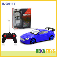 Best kids toy blue replica rc touring sport car toy plastic boys toys imitation auto club world racing car