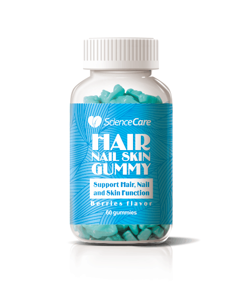 Dietary Supplement Hair Vitamin Gummies Candy Bear