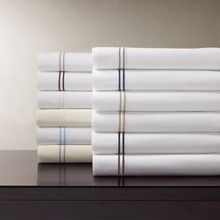 Wholesale Hotel Used Bed Sheets with 100% Cotton White Designed Bedding Sheets