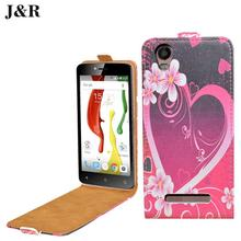 Printing Picture Magnetic Leather cover for Samsung Galaxy S4 Mini i9190 Flip Case with wallet and stand