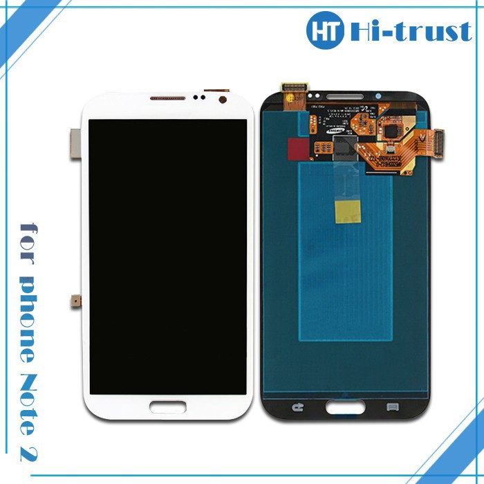 DHL Free Shipping! 100% Guarantee Original LCD Screen with Touch screen Assembly for Samsung Galaxy Note2