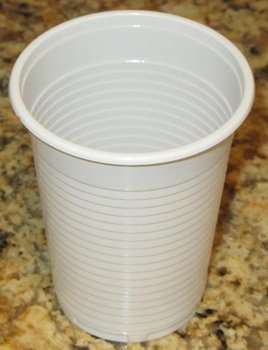 Value plastic cup 210 ml