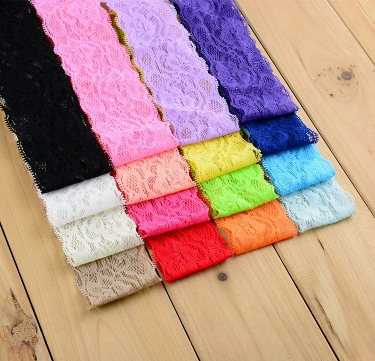 4.5CM Lace Headband Baby Hair Band Hair Accessories For Girls