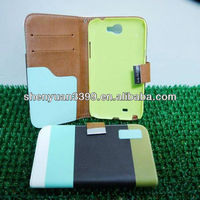 2013 new trendy charming mixed color korean fashion style mini flip pretty wholesales cheap ladies pvc cell phone case for htc