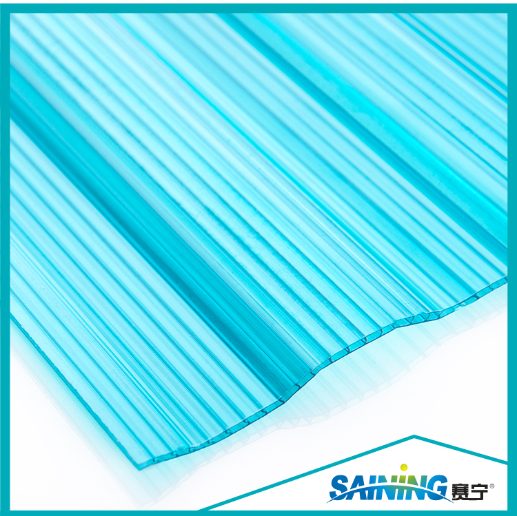 China Plastic Products Unbreakable Roof Color Corrugated Sheet Price