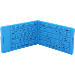 2016 silicone bluetooth portable wireless keyboard easy to carry