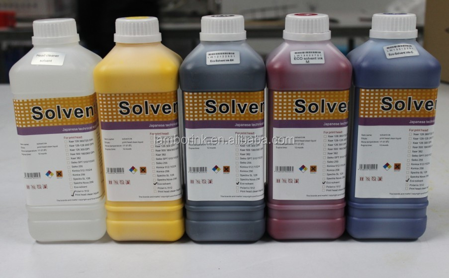 Factory price Eco Solvent pigment Ink For Roland/Mimaki/Mutoh/epson