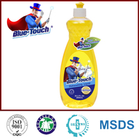 Blue-Touch Strong Power Dishwashing Liquid for dish washing 600ml