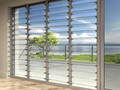 Luxurious Design Used Commercial Glass Doors/Exterior Glass Louver Door