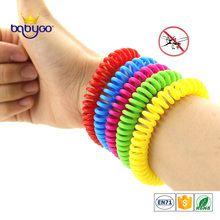 Natural Oil Wristband Repellent Coil Citronella Bracelet Mosquito Anti