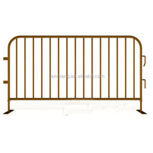 2.5M brown Colour Powder Coated Temporary Fence Barrier For Crowd Control