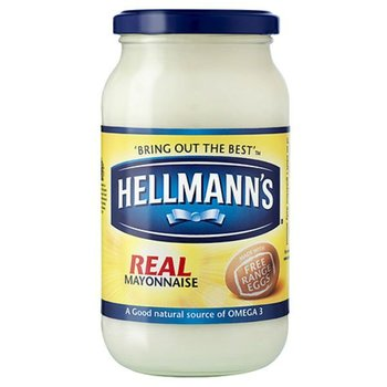 HELLMANNS Real Mayonnaise Jar